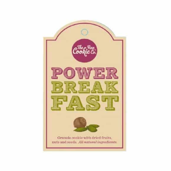 Etiquette cookies Power Breakfast