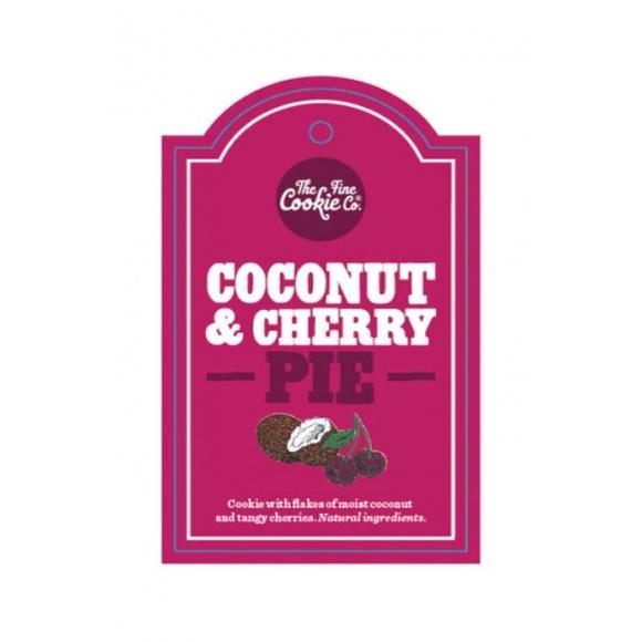 Etiquette cookies Coconut Cherry Pie