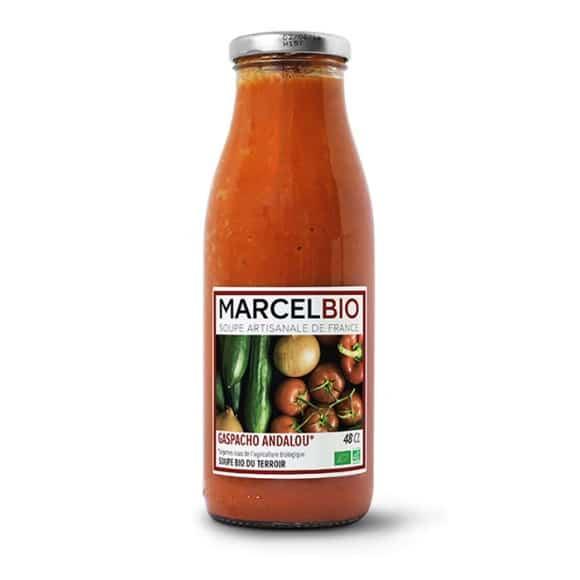 Gaspacho Andalou bouteille verre 12 x 480ml BIO