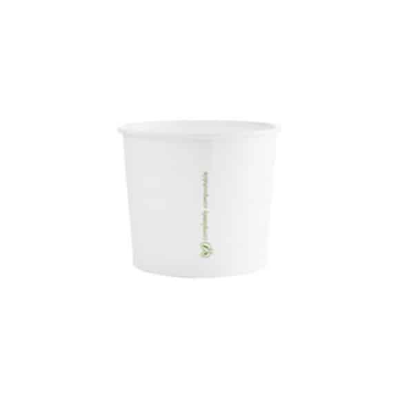 Pot à soupe 100% compostable 10oz/300ml x50