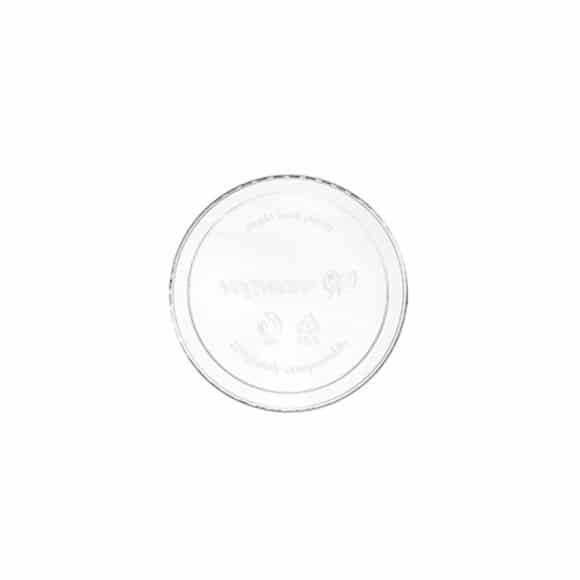 Couvercle multifood 8 à 24oz/237 à 710ml compostable BIO x50