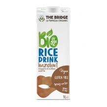 Lait de riz et noisette 12 x 1L BIO