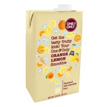 One & Only Smoothie Orange Citron 1L
