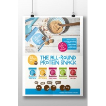 Affiche The Protein Ball Co. recto seul A3 29,7 x 42 cm