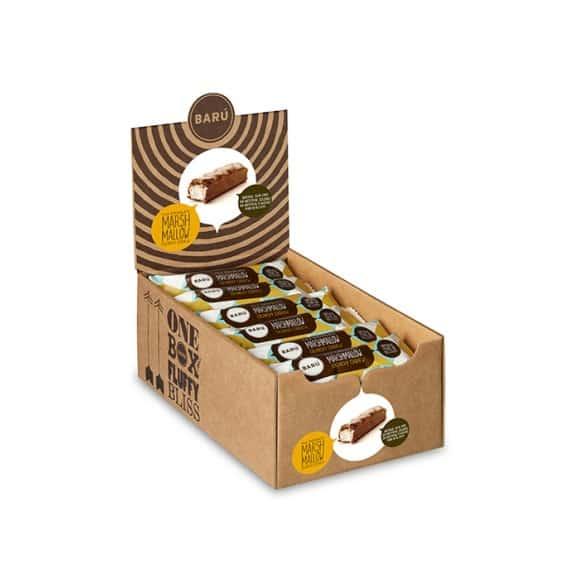 Barres marshmallow chocolat au lait noix de cajou croquant 18x30g