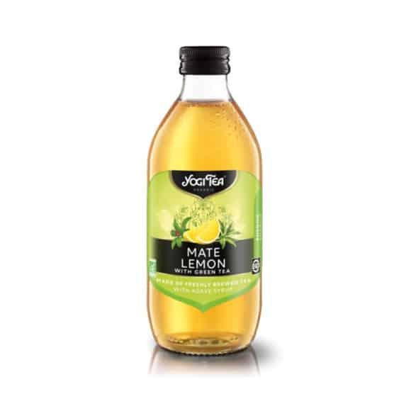 Infusion glacée Maté Citron bouteille verre 10 x 330ml BIO