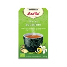 Infusion Thé Vert au Jasmin sachet 17 x 1.8g BIO