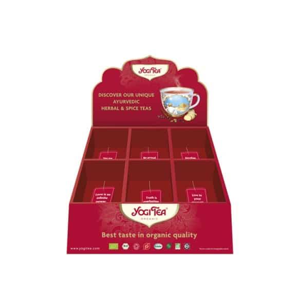 Présentoir YOGI TEA® pour 6 références