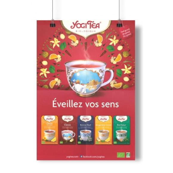 YOGI TEA® Poster A3 Infusions en sachet