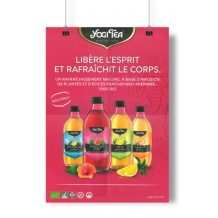 YOGI TEA® Poster A3 Infusions en bouteille