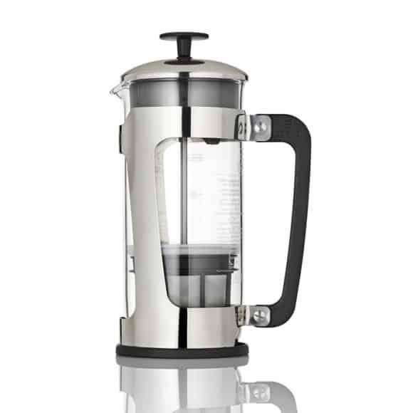 Cafetière Press P5 inox et verre 1L
