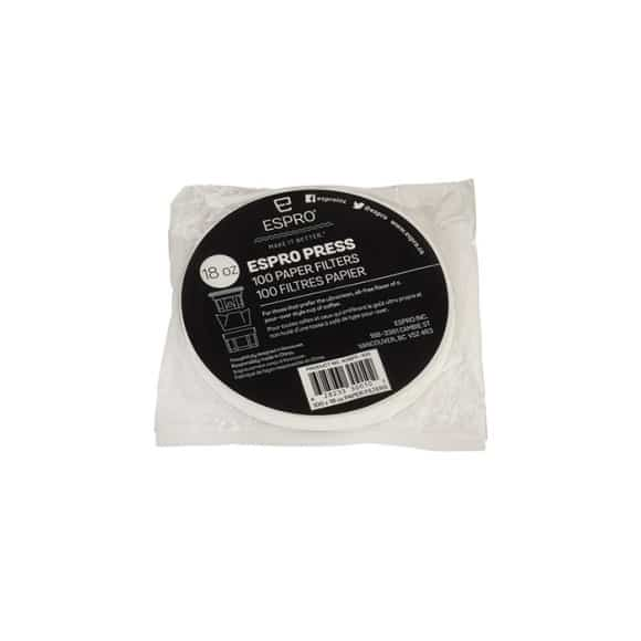 Filtre papier pour P7 550ml/P5 500ml