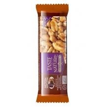 Présentoir barre de céréales Chocolat noir Peanut Caramel 16 x 40g BIO