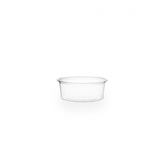 Sachet x 100 pots dégustation PLA transparent 2oz/59ml