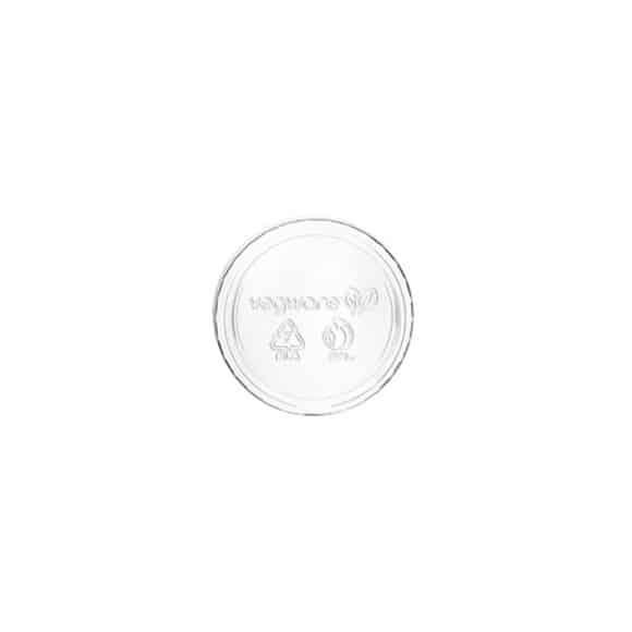 Sachet x 50 couvercles PLA transparent 2oz/59ml