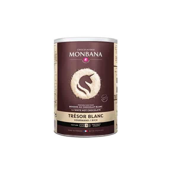 Chocolat en poudre Trésor au Chocolat Blanc boîte 500g