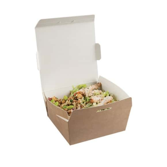 Boîtes CookPac kraft 34oz/1L x 200