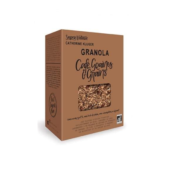 Granola café graines et grains boîte 350g BIO