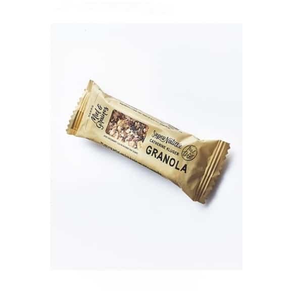 Lot de 6 présentoirs barres granola miel 20 x 35g BIO