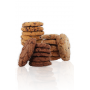 Cookies frais Mix 4 parfums 16 x 4 pce. 65g