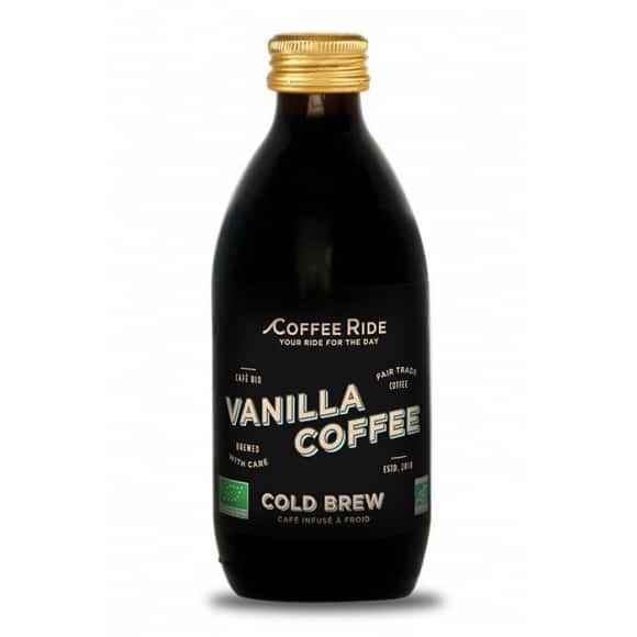 Café infusé à froid vanille bouteille verre 20 x 330ml BIO