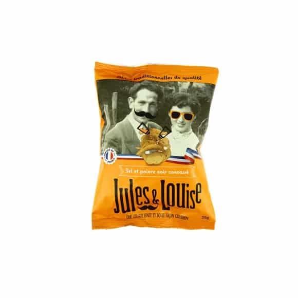 Chips françaises sel et poivre 20x35g