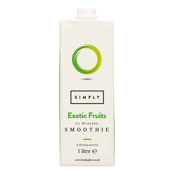 Simply Smoothie Fruits exotiques tetrapak 8 x 1L