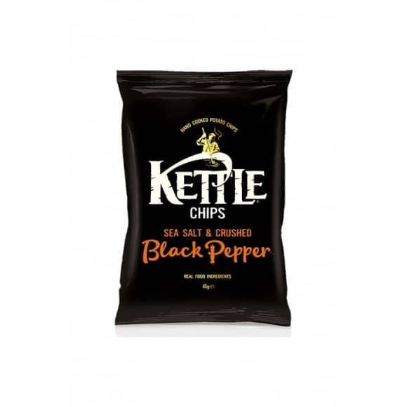 Chips Sel marin et Poivre Noir 18 x 40g