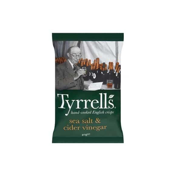 Tyrrells - Chips Vinaigre de Cidre 24 x 40g
