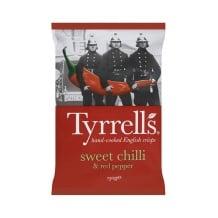 Tyrrells Chips Piment Doux et Poivron rouge 12 x 150g