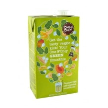 One & Only Smoothie Green fruits et légumes 8 x 1L