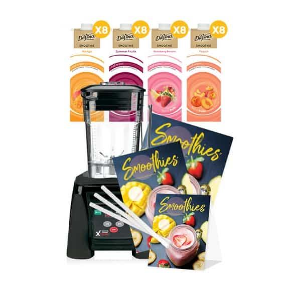 Kit smoothie été 2019 + PLV + Blender Waring