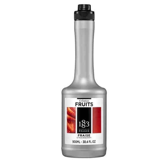 Routin 1883 Fruit Création Fraise bouteille 900ml