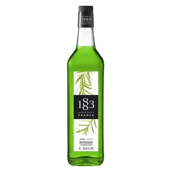 Sirop Estragon bouteille verre 1L