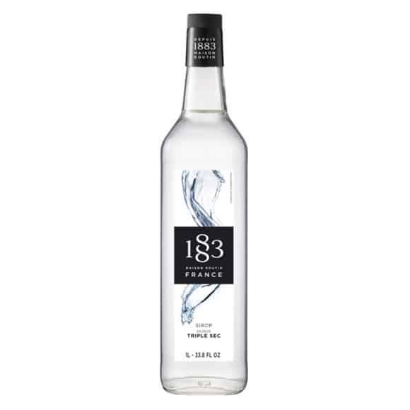 Sirop Triple sec bouteille verre 1L