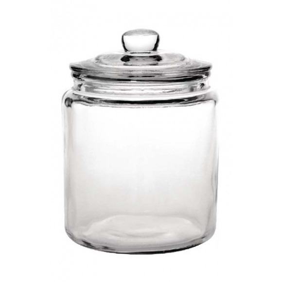 Jarre en verre avec couvercle 6.2L