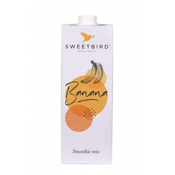 Sweetbird Smoothie Banane tetrapak 8 x 1L