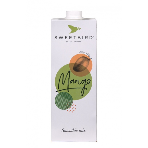 Sweetbird Smoothie Mangue tetrapak 8 x 1L