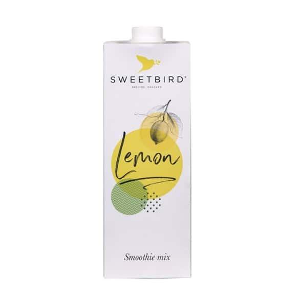 Sweetbird Smoothie Citron tetrapak 8 x 1L