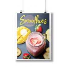 Affiche Smoothie recto-verso A3 29,7 x 42 cm