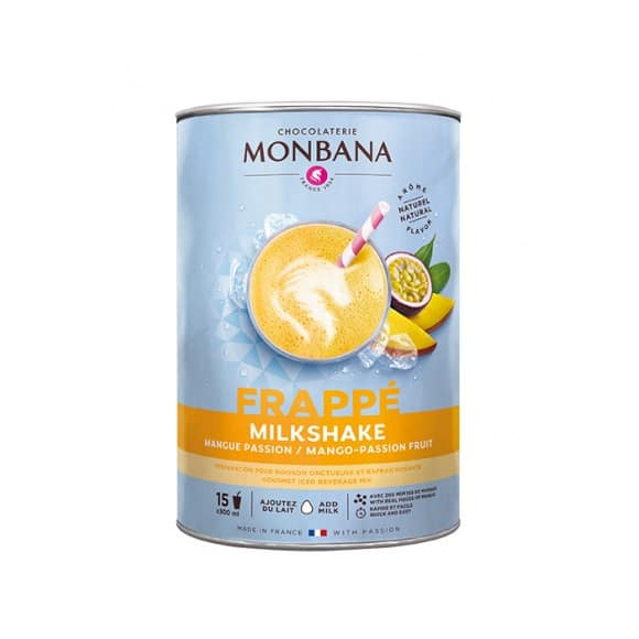 Lot de 6 milkshake Mangue Passion boîte 1kg