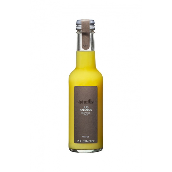 Jus d'Ananas bouteille verre 20x20cl