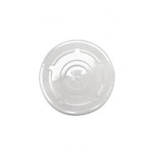 Sachet x 50 couvercles plats à croisillons PLA Ø96mm
