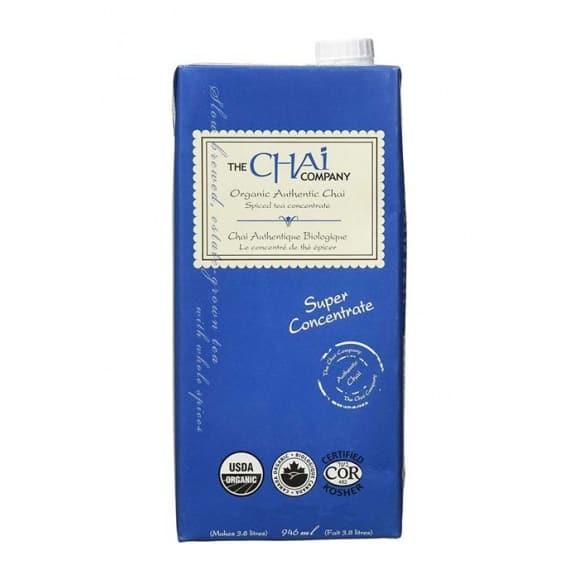 The Chai Company Authentic chai liquide 12x946ml BIO