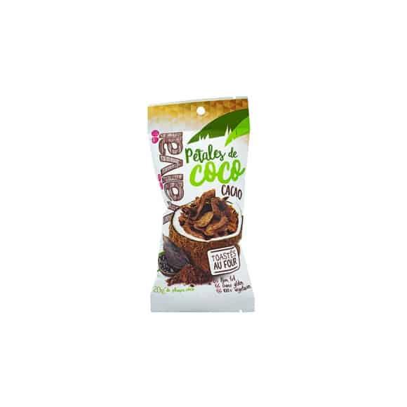 4 présentoirs Pétales de Coco Choco toastés au four 6 x 20g