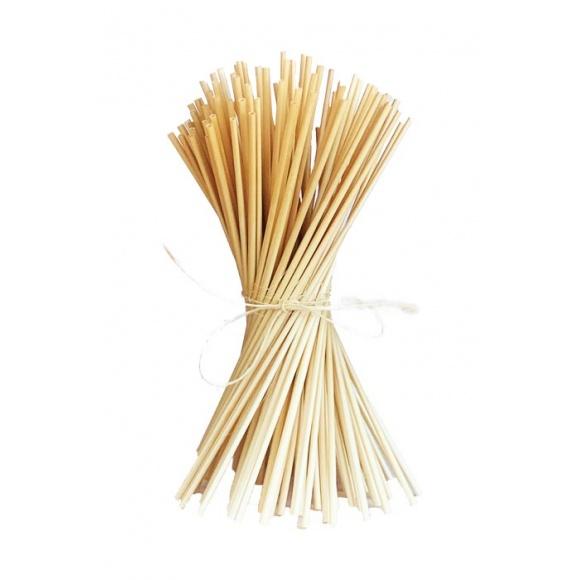 Lot de 10 sachets de 100 pailles en blé L.240mm Ø 3 à 5mm