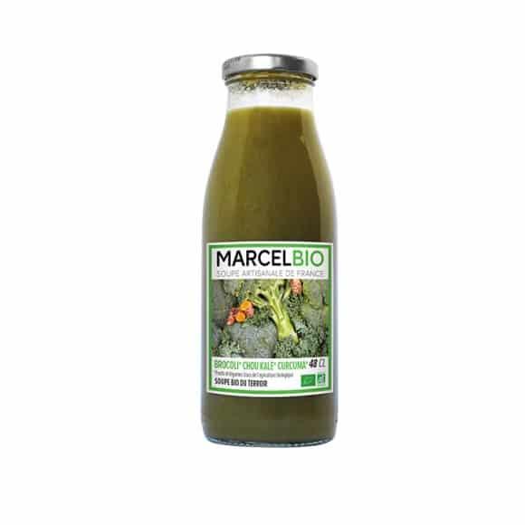 Soupe brocoli choux kale bouteille verre 12 x 480ml BIO