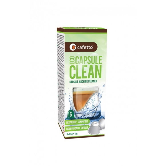 Capsule de nettoyage Nespresso x 6 BIO