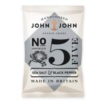 Chips N°5 Sel de mer et Poivre Noir 24 x 40g DDM 30/05/2020