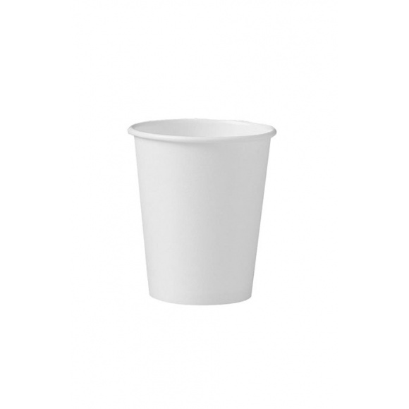 Sachet x 60 gobelets carton blanc Ø80mm 10oz/280ml